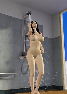 Busty animated babe gets fucked in a bathroom - part 802
